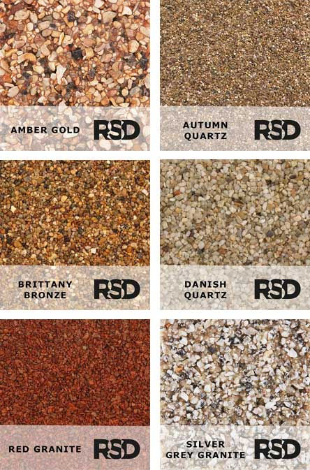Resin Bonded Aggregate Choices