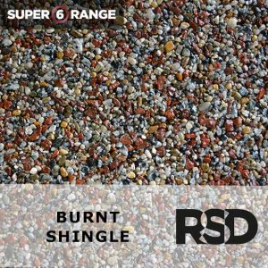 Super 6 Burnt Shingle