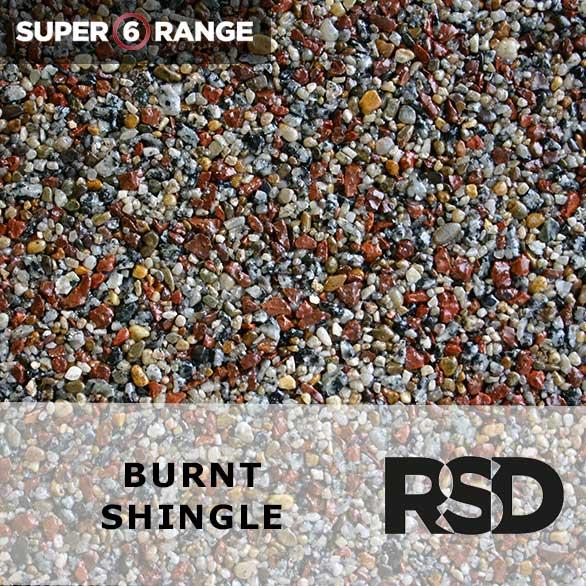 Super 6 Burnt Shingle