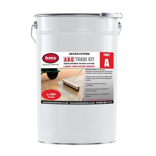 Large Resin Bonded Trade Kit Without Aggregate - Part A