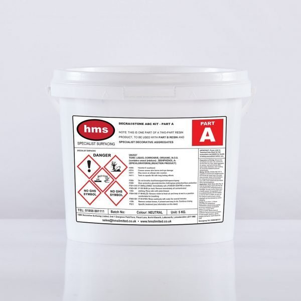 Small Resin Bonded Trade Kit Without Aggregate - Part A