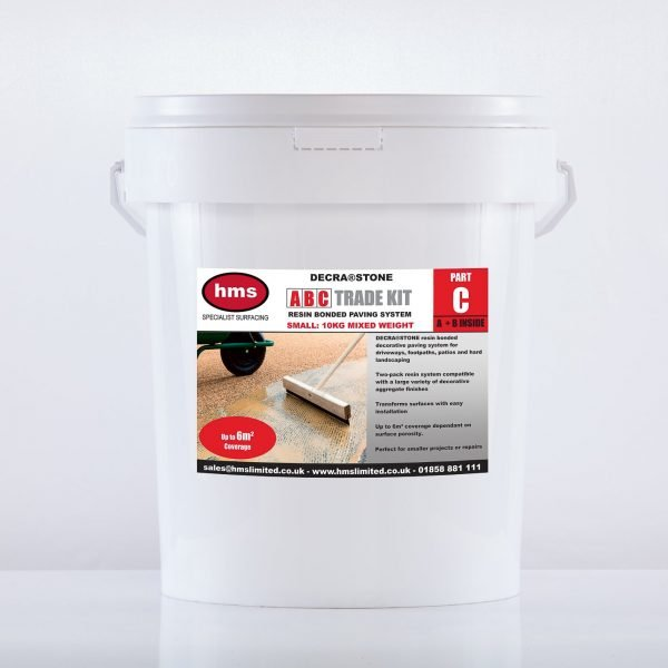 Small Resin Bonded Trade Kit Without Aggregate - Part C