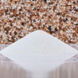 Fine Crushed Glass for Resin Bound Paving