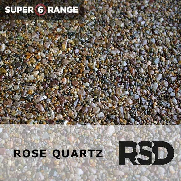 Super 6 Rose Quartz
