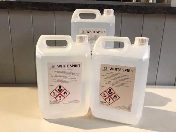 5 Litre Container of White Spirit