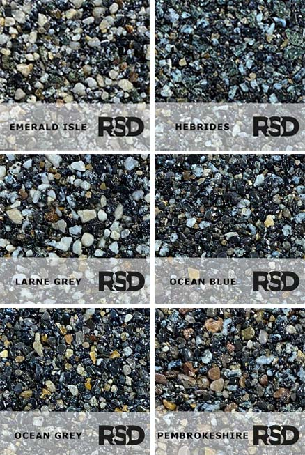 New Resin Bound Colour Range: Shades of Grey