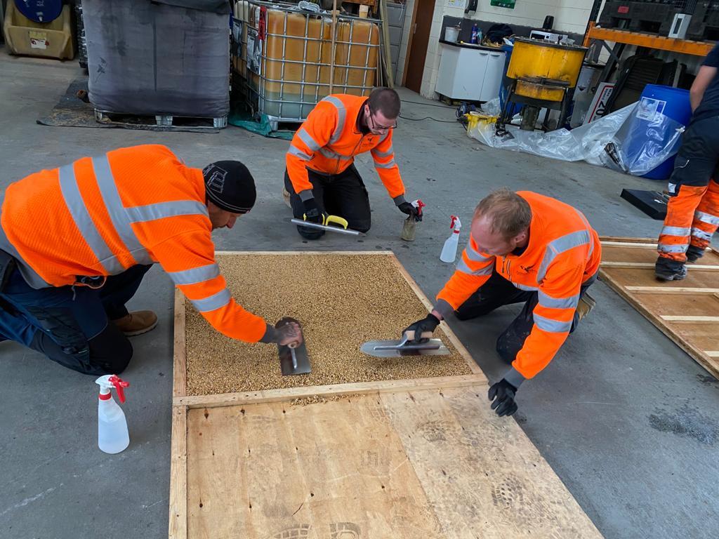 Resin Bound Installation training