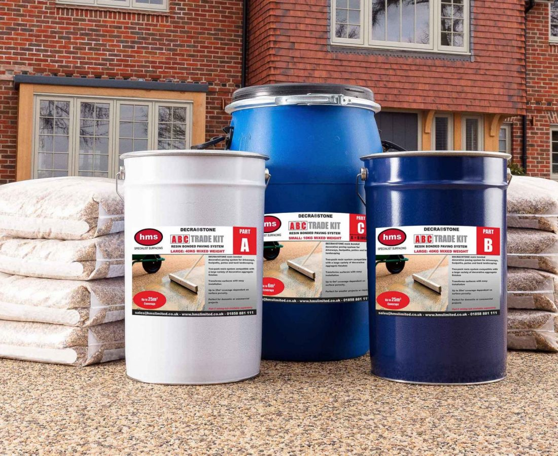 DecraStone Resin Bonded Large Trade Kit with Aggregate